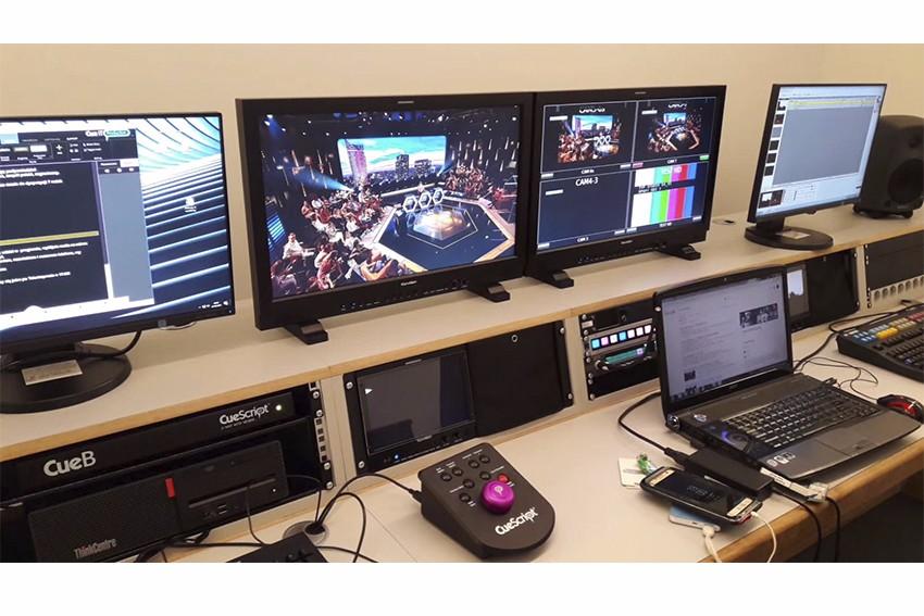 波兰TVP演播室内部