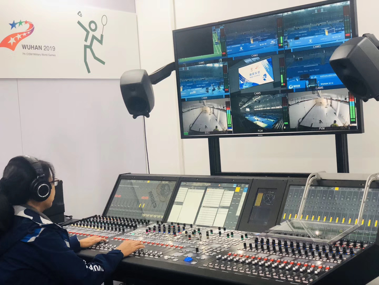 康维讯监视器助力武汉第七届世界军人运动会