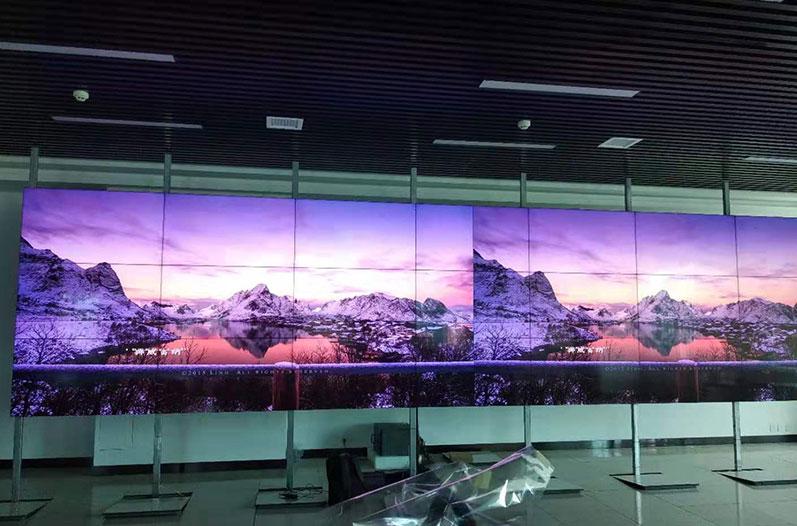 康维讯55寸广播级拼接屏 | 叹为观止的是所有画面的极致统一