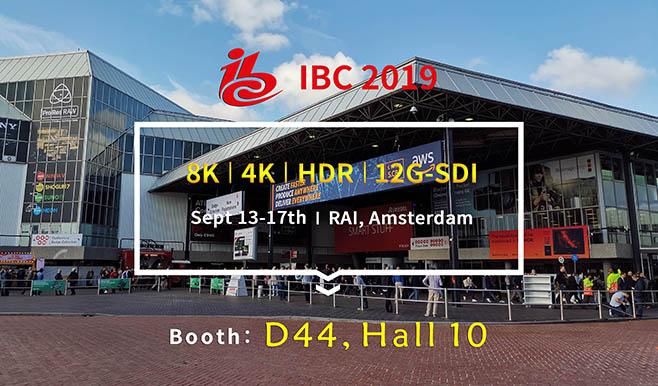 荷兰IBC-2019 | 康维讯8K来袭!