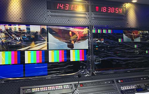 双联与抽屉式监视器被湖南电视台采用