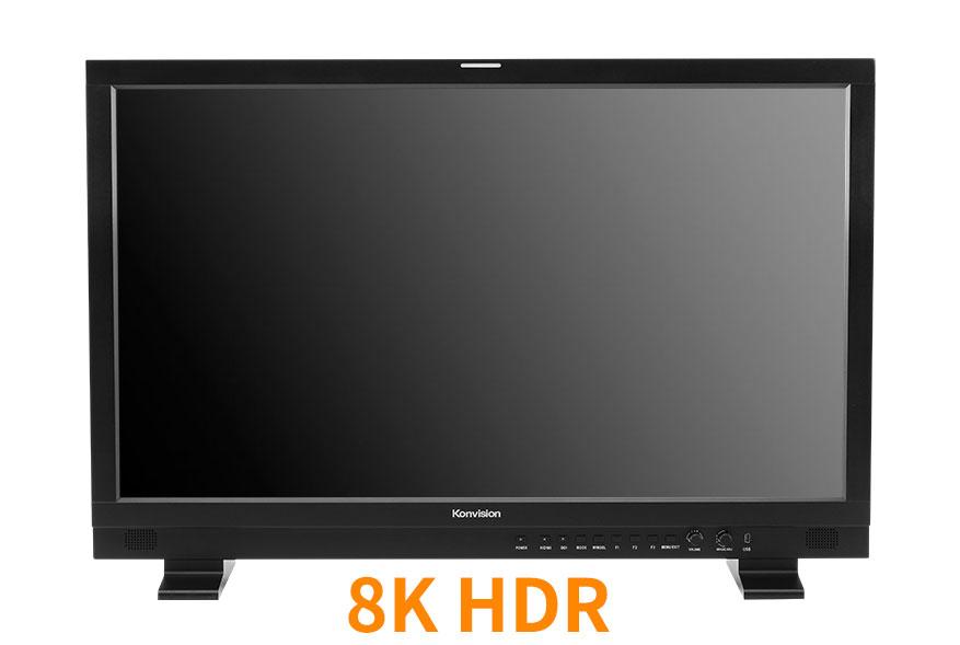 17-65英寸 8K HDR 12G-SDI监视器