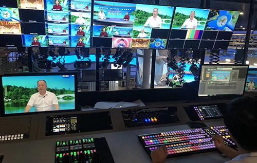 重庆璧山电视台4K演播室
